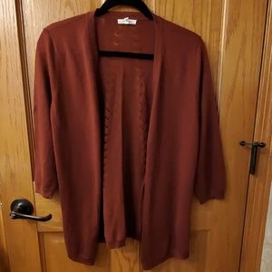 Maurices, size m cardigan